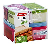 Rubbermaid Kids Tall Lunchbox Pink - Each