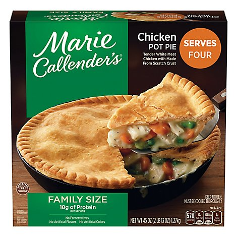 Marie Callenders Family Size Chicken Pot Pie - 45 Oz