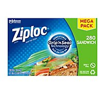 Ziploc Seal Top Sandwich Bags Mega Pack - 280 Count