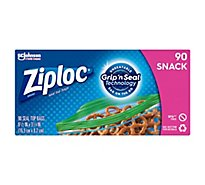 Ziploc Seal Top Snack Bags - 90 Count