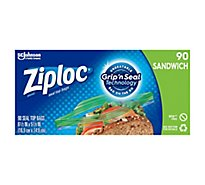 Ziploc Seal Top Sandwich Bags - 90 Count
