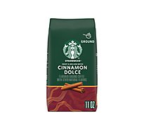 Starbucks Coffee Ground Flavored Cinnamon Dolce Bag - 11 Oz