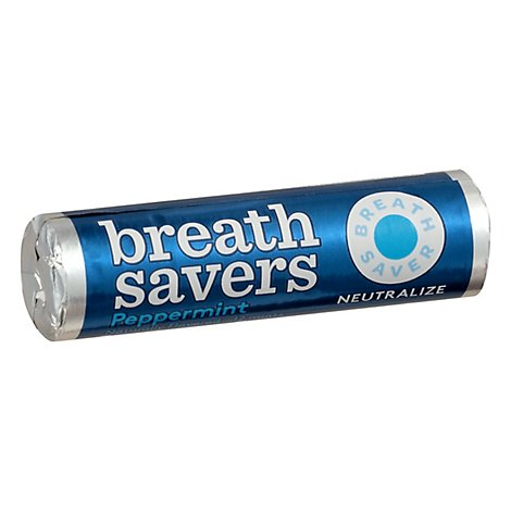 BreathSavers Mints Sugar Free Peppermint - 12 Count