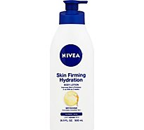NIVEA Body Lotion Skin Firming Hydration Normal Skin - 16.9 Fl. Oz.