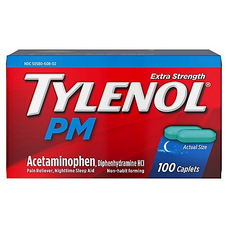 Tylenol PM Extra Strength - 100 Count