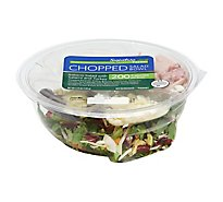 Signature Farms Salad Bowl Chopped Italiano Salad with Salami and Turkey - 5.25 Oz