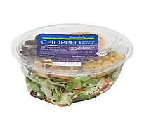 Signature Farms Salad Bowl Chopped BBQ Seasoned Ranch Chicken Salad - 7 Oz