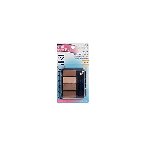 COVERGIRL Eye Enhancers Mix & Match Quad Country Woods 215 - 0.19 Oz