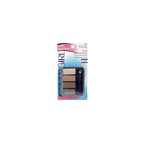 COVERGIRL Eye Enhancers Mix & Match Quad Urban Basics 220 - 0.19 Oz