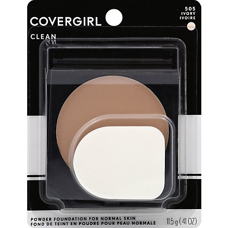 COVERGIRL Simply Powder Foundation Ivory 505 - 0.41 Oz