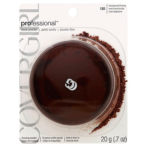 COVERGIRL Professional Loose Powder Translucent Honey 120 - 0.7 Oz