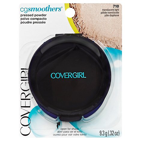 COVERGIRL CG Smoothers Pressed Powder Translucent Light 710 - 0.32 Oz
