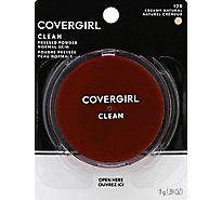 COVERGIRL Clean Pressed Powder Normal Skin Creamy Natural 120 - 0.39 Oz