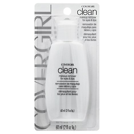 COVERGIRL Clean Makeup Remover for Eyes & Lips - 2 Fl. Oz.