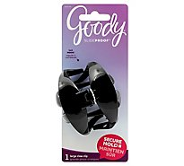 Goody Claw Clip Slide Proof Wingless Large - Each