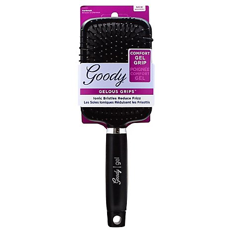 Goody Brush Gelous Grip Frizz-Free Smoothing Paddle - Each