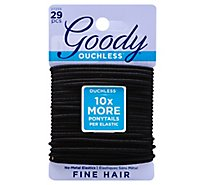 Goody Elastics Ouchless Thick 4mm Black - 29 Count