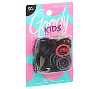Goody Elastics Ouchless Mini Braided Assorted - 50 Count