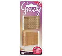 Goody Bobby Pins Colour Collection Blonde - 50 Count