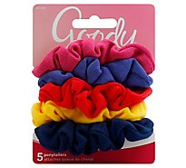 Goody Scrunchie Ouchless Assorted - 5 Count