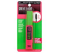 Maybelline Mascara Great Lash Brownish Black 102 - .43 Fl. Oz.