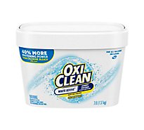 OxiClean Laundry Stain Remover White Revive - 3 Lb