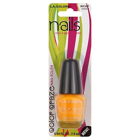La Colors Color Craze Nail Polish Shock BCC567 - .44 Fl. Oz.