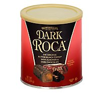 Brown & Haley Roca Buttercrunch Toffee Dark With Almonds And Dark Chocolate - 10 Oz