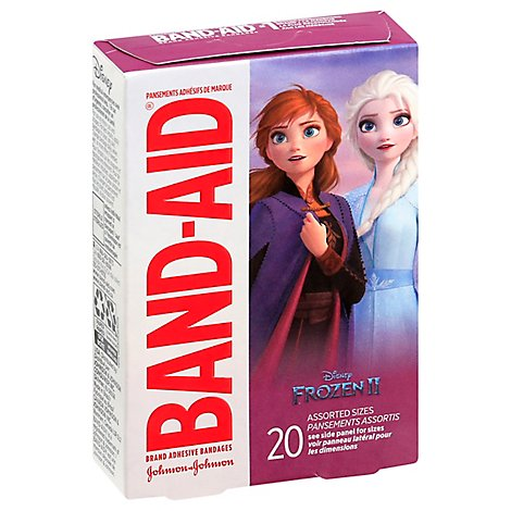 BAND-AID Brand Adhesive Bandages Disney Frozen - 20 Count