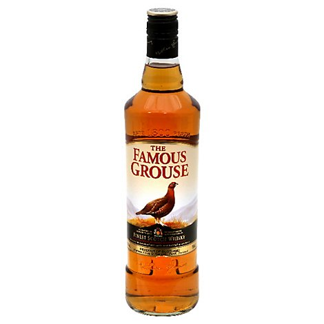 The Famous Grouse Whisky Scotch Blended 80 Proof - 750 Ml