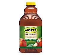 Motts Juice 100% Apple Natural - 64 Fl. Oz.