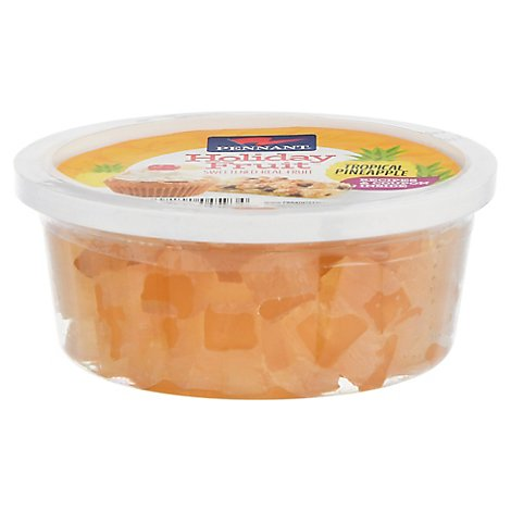 Pennant Pineapple Wedges - 8 Oz