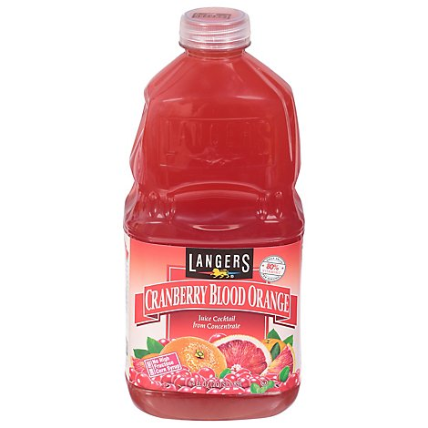 Langers Cranberry Blood Orange Cocktail - 64 Fl. Oz.