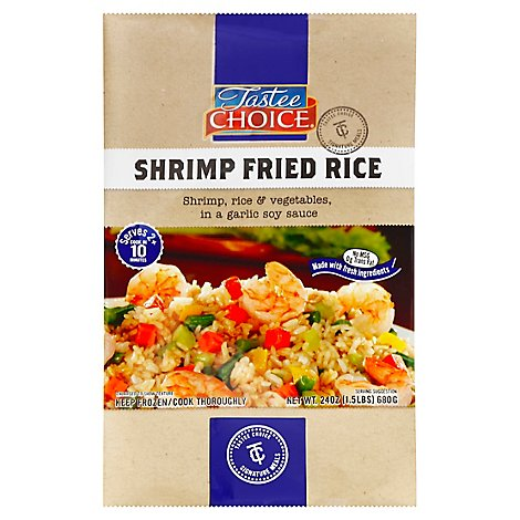 Tastee Choice Signature Meals Fried Rice Shrimp - 24 Oz