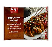 Yangs Asian Entrees Bbq Chicken Teriyak - 21 Oz