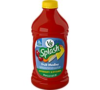 V8 Splash Flavored Fruit Beverage Fruit Medley - 64 Fl. Oz.
