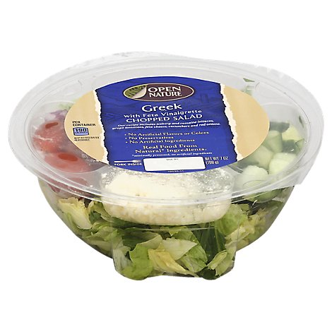Open Nature Chopped Salad Greek - 7 Oz