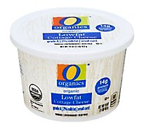 O Organics Organic Cheese Cottage 2% Milkfat Lowfat - 16 Oz