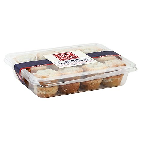 Just Desserts Cake Bites Coffee Blueberry 24 Count - Each