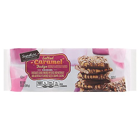 Signature SELECT Cookies Fudge Salted Caramel - 10 Oz