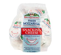 Fresh Mozzarella Snacking Cheese 1 Oz Packages Per Bag - 18 Oz