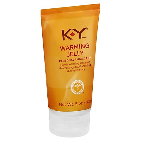 KY Personal Lubricant Warming Jelly - 5 Oz