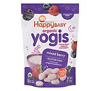 Happy Baby Organics Yogis Yogurt & Fruit Mixed Berry Snacks - 1 Oz