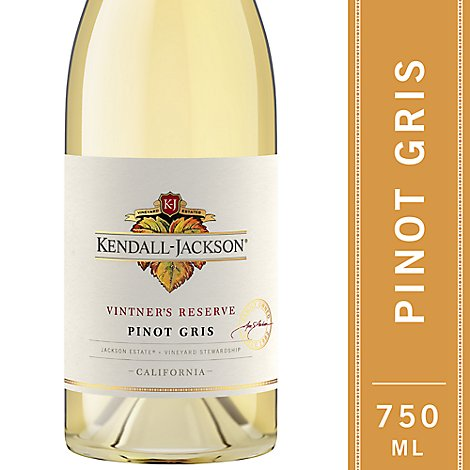 Kendall-Jackson Vintners Reserve Wine White Pinot Gris - 750 Ml