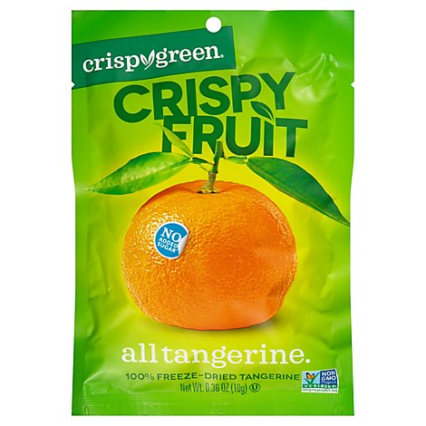 Crispy Green Crispy Fruit Tangerine - 0.36 Oz