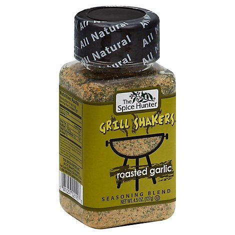 The Spice Hunter Grill Shakers Seasoning Blend Roasted Garlic - 4.5 Oz