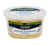 Lucerne Cheese Shaved Parmesan Tub - 4 Oz