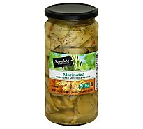 Signature SELECT Artichoke Hearts Marinated Quartered - 24 Oz