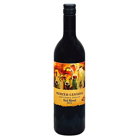 Mercer Canyons Red Blend Wine - 750 Ml