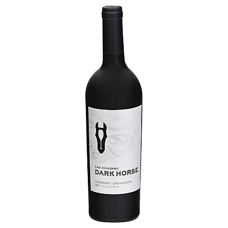 Dark Horse Red Wine Cabernet Sauvignon The Original California - 750 Ml